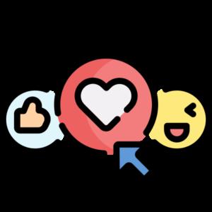 acheter reaction facebook pas cher