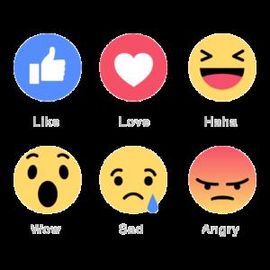 Acheter reaction facebook pas cher paypal
